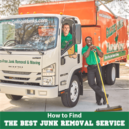 How to Find the Best Junk Removal Service