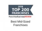 Franchise Business Review Top 200 Francises logo.