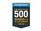 Entrepreneur Franchise 500 logo.