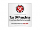 Franchise Business Review Top 50 Franchise logo.