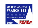 Franchise Business Review Most Innovative Franchises logo.