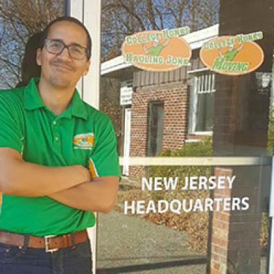 North Jersey location manager Andy Garcia