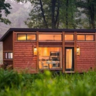 """A """"full-size"""" tiny home"""