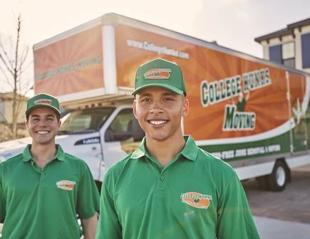 Our College Hunks Are Ready to Haul Your Stuff