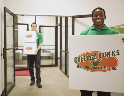 College Hunks Hauling Office Furniture