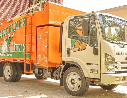 College Hunks Truck